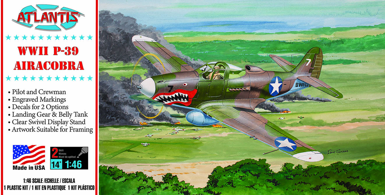 Atlantis P-39 Airacobra