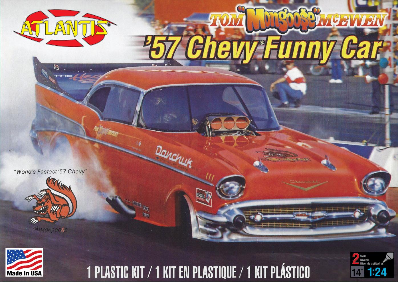 Atlantis 1/24 Tom McEwen '57 Chevy Funny Car