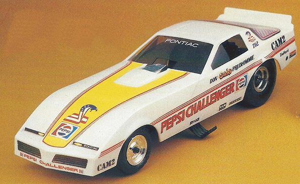 Atlantis 1/32 Snap Pontiac Funny Car