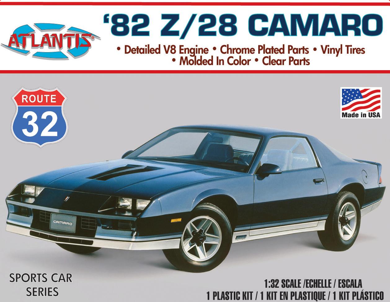 Atlantis 1/32 82 Camaro Z-28 Model Kit