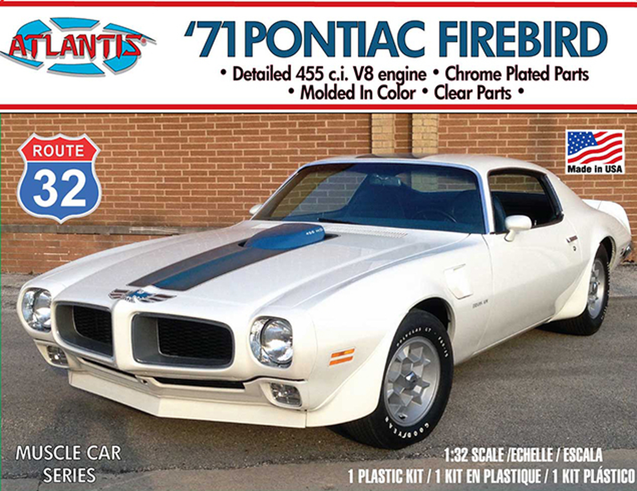 Atlantis 1/32 1971 Pontiac Firebird Route 32