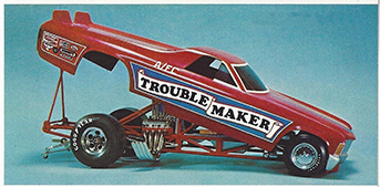 Atlantis 1/24 Son of Troublemaker Chevy El Camino Funny Car