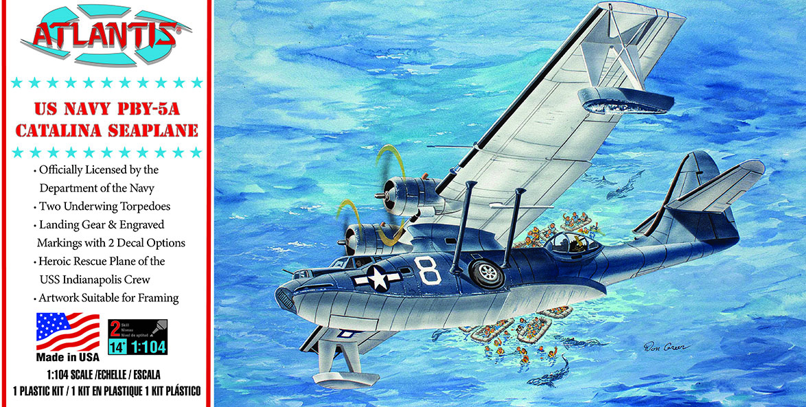 Atlantis PBY-5a Catalina Seaplane