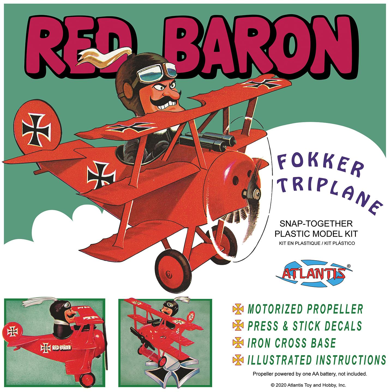 Atlantis Red Baron Fokker