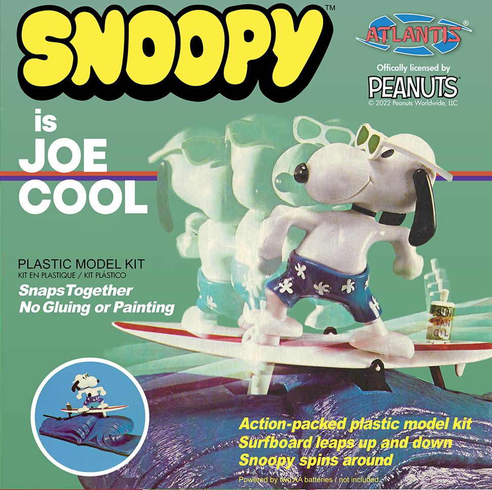 Atlantis Snoopy Joe Cool Surfing