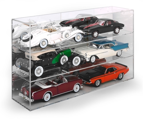 Auto World 6-Car Acrylic Display Case