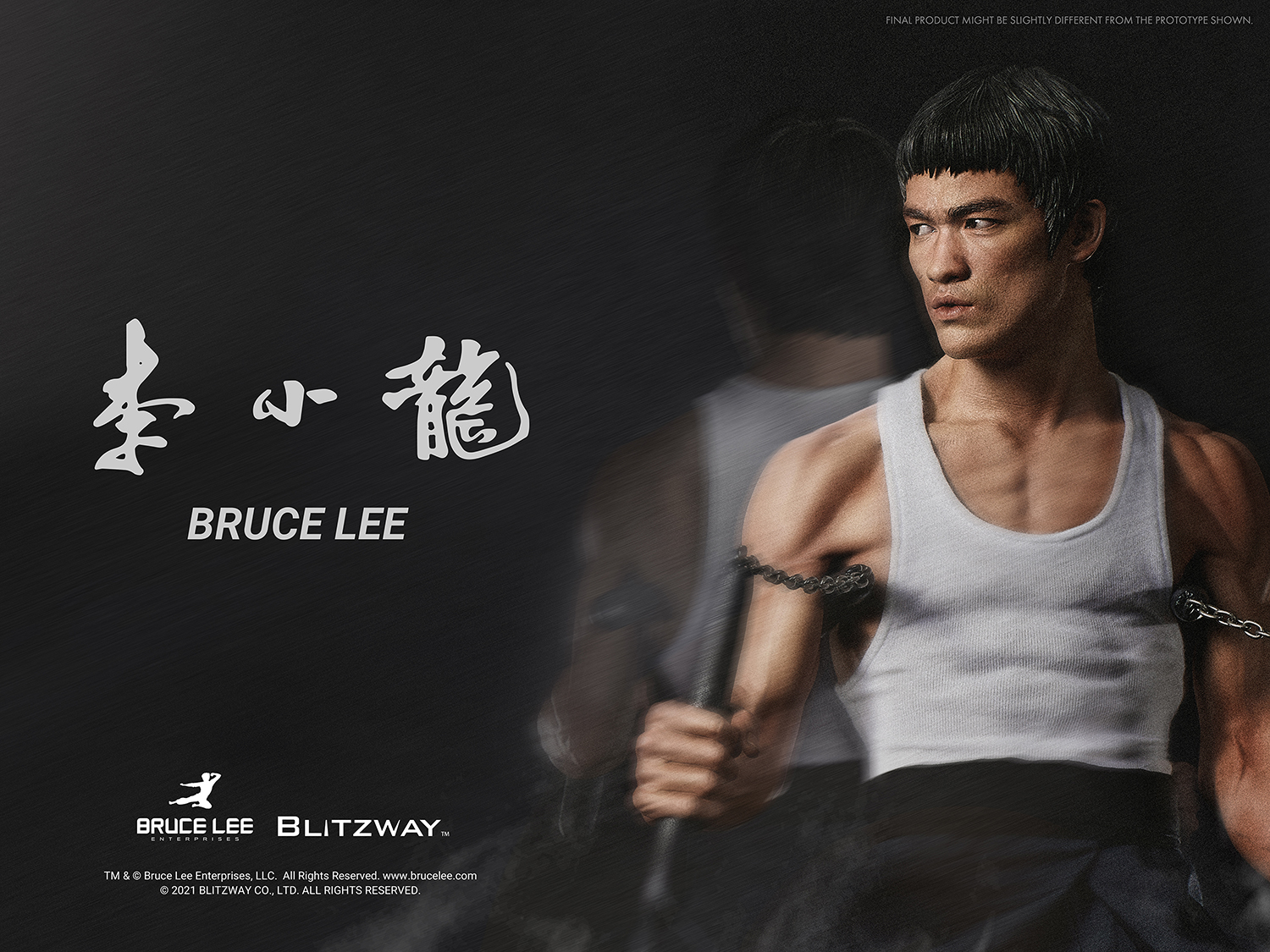 "Blitzway Bruce Lee: Tribute Statue 1/4th Scale - ver. 4 ""Bruce Lee"", Hybrid Type Statue"