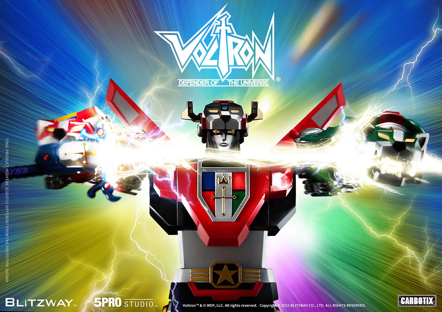 """Blitzway """"Voltron"""" 5Pro Studio CARBOTIX Series, Action Figure"""