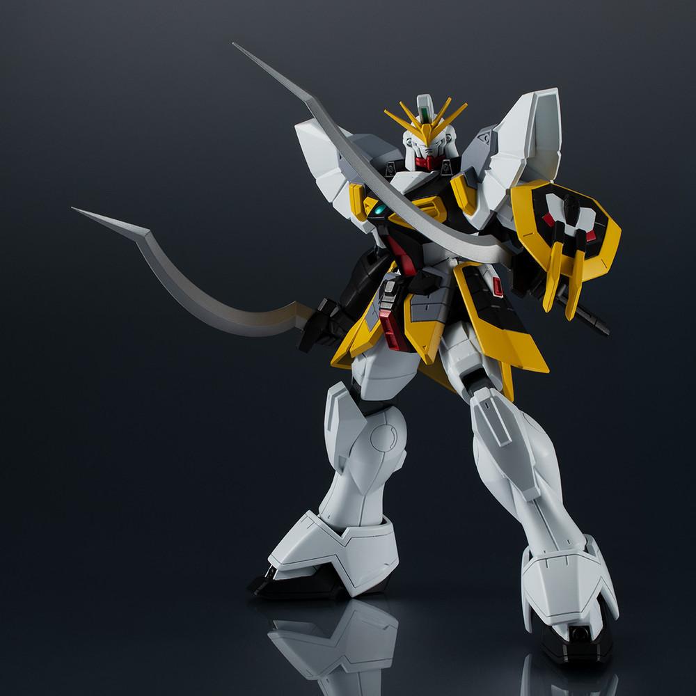 "Bandai Spirits Gundam Universe XXXG-01SR Gundam Sandrock ""New Mobile Report Gundam Wing"", Pre-assembled Figure"