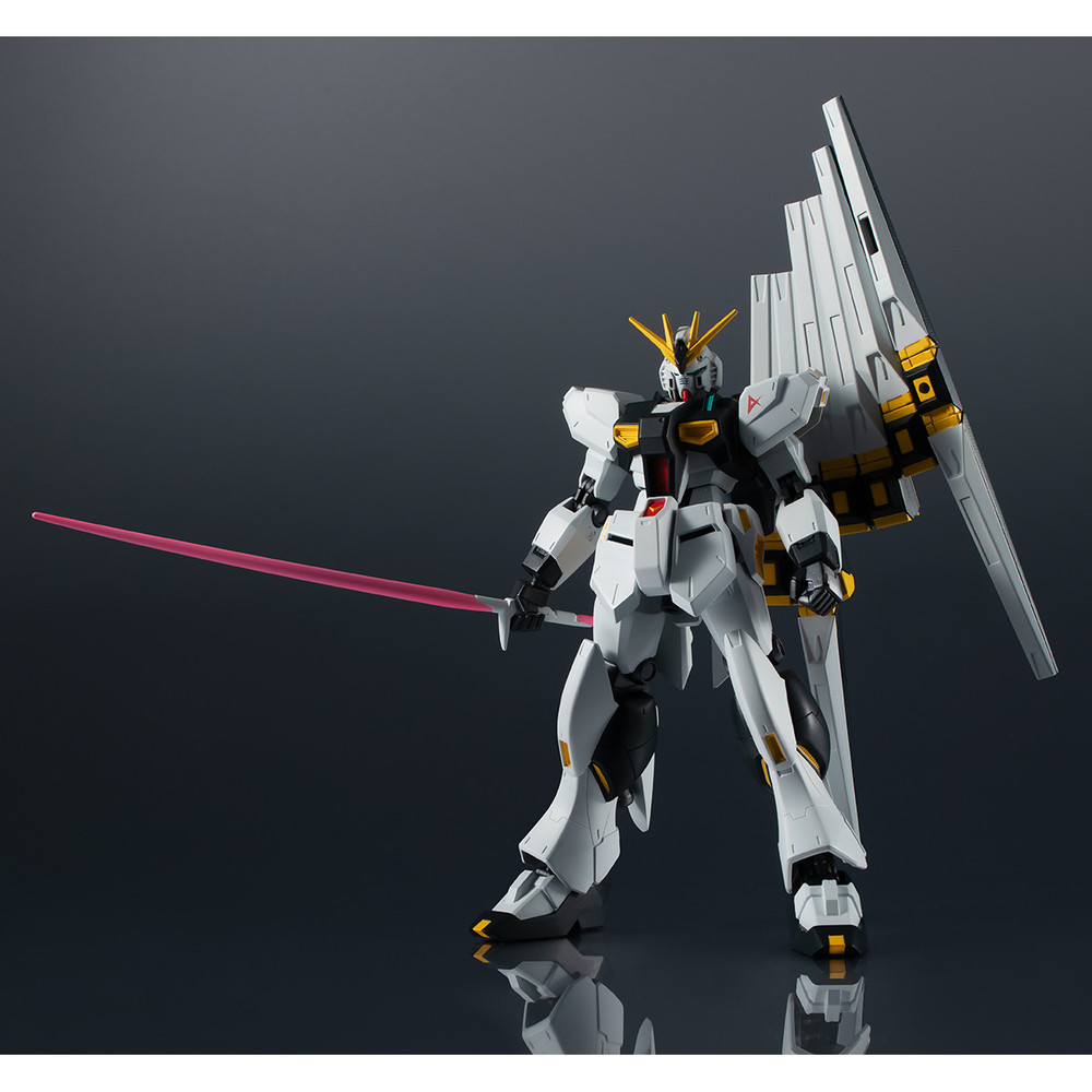 "Bandai Spirits Gundam Universe RX-93 v Gundam ""Mobile Suit Gundam:Char's Counterattack"", Pre-assembled Figure"