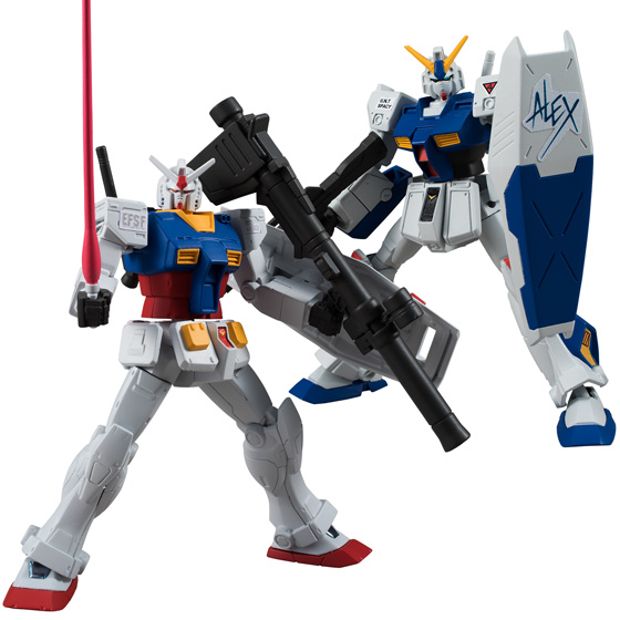 "Bandai Gundam Universal Unit Vol. 1 ""Mobile Suit Gundam"" (Box/10), Bandai GUU"