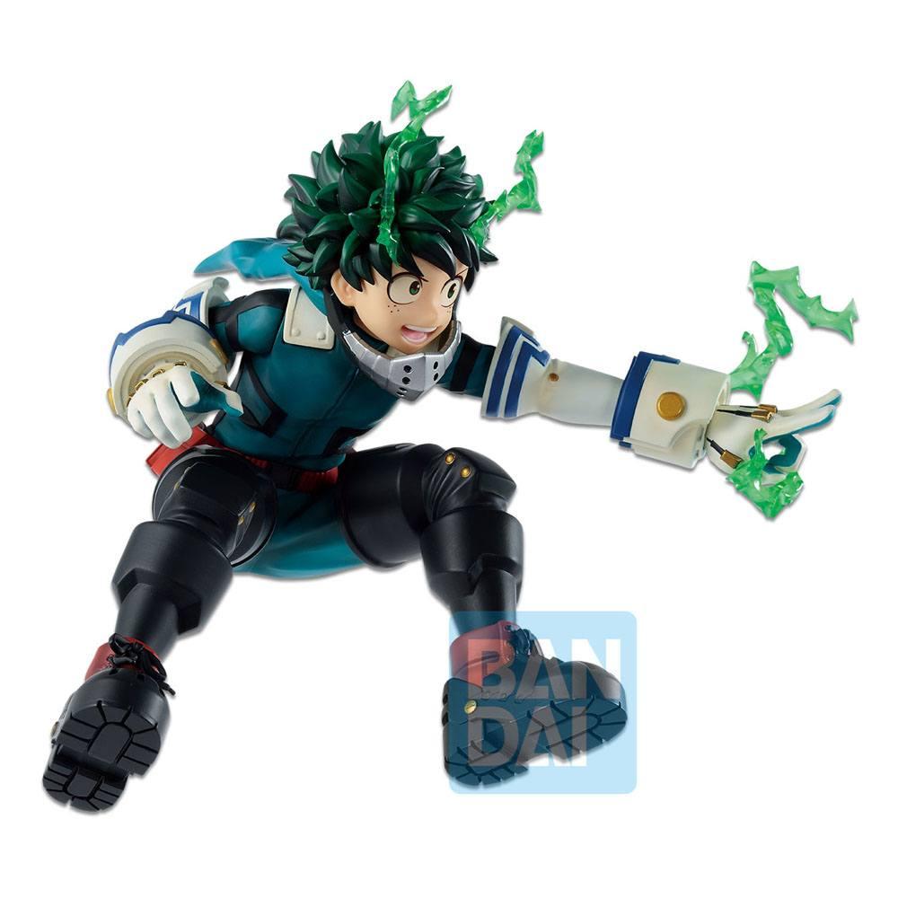 "Bandai Spirits Ichibansho Figure Izuku Midoriya (Go and Go!) ""My Hero Academia"""