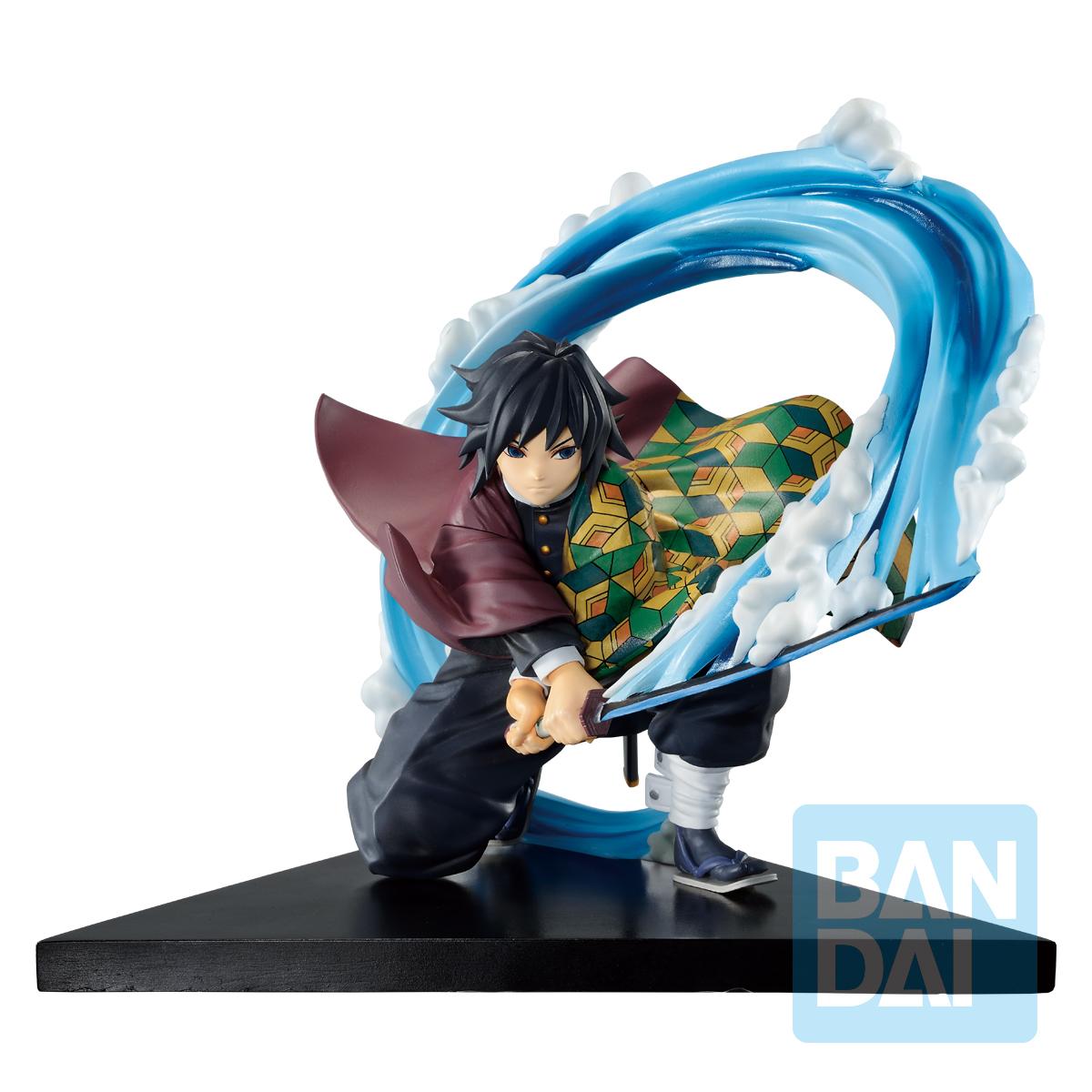 """Bandai Spirits Ichibansho Figure Giyu Tomioka(Proceed With Unbreakable Heart And Sword) """"Demon Slayer: Kimetsu no Yaiba"""""""