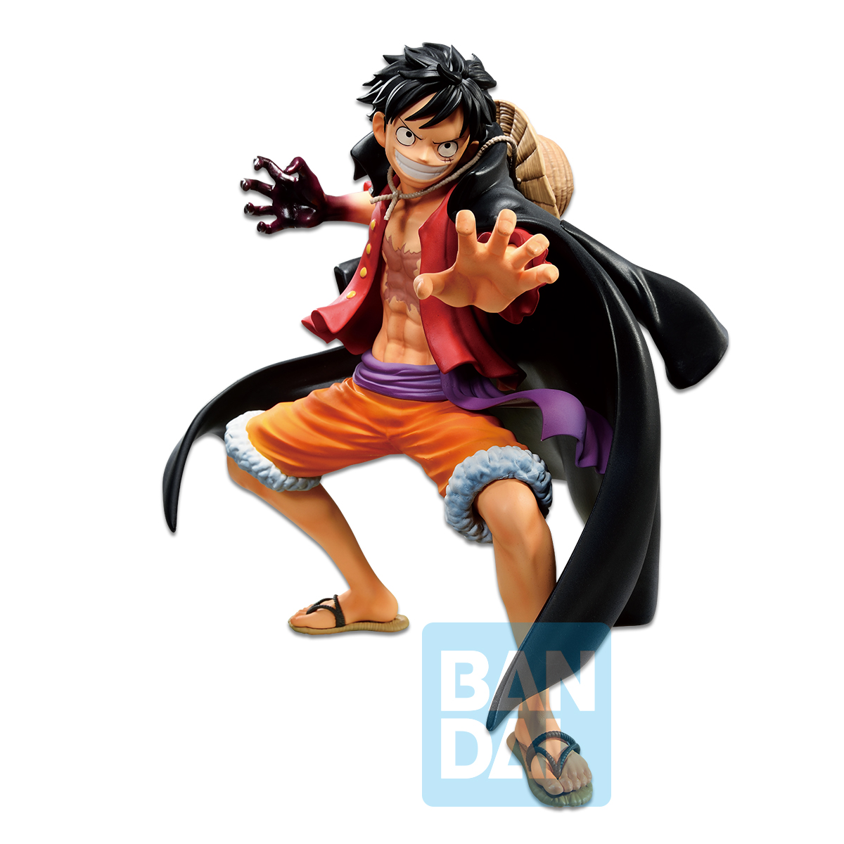 "Bandai Ichibansho Figure Monkey D. Luffy ""One Piece"", (Best Of Omnibus)"
