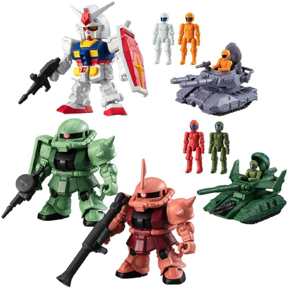 "Bandai Mobile Suit Gundam Micro Wars ""Mobile Suit Gundam"" (Box/10), Bandai Micro Wars"