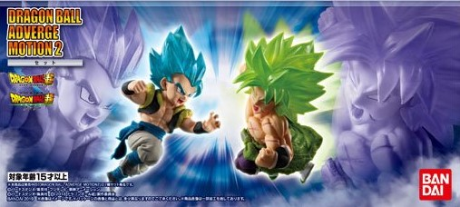 "Bandai Dragon Ball Adverge Motion 2 Set ""Dragon Ball Super"", Bandai Adverge"