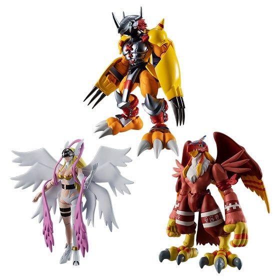 "Bandai Shodo Digimon Adventure 1 ""Digimon"", Bandai Shokugan (6/BOX)"