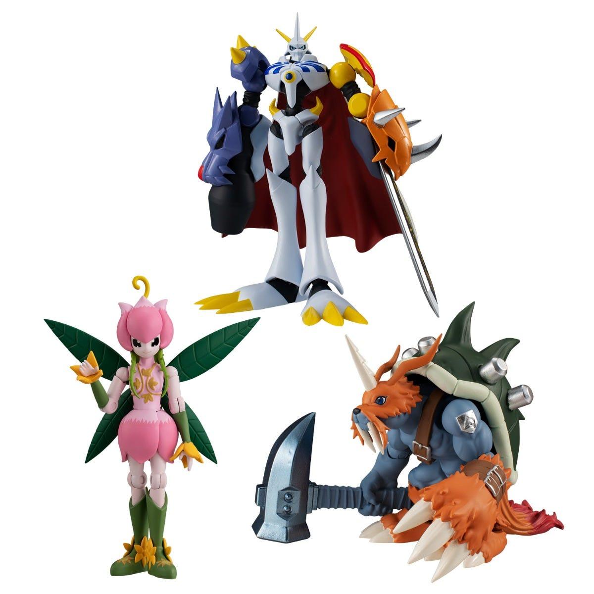 "Bandai Shokugan Shodo Digimon Adventure 3 ""Digimon"" (6/BOX)"