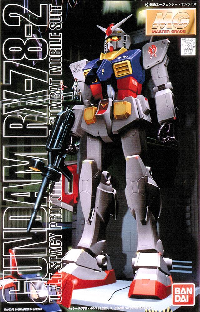"Bandai RX-78-2 Gundam ""Mobile Suit Gundam"", Bandai MG 1/100"