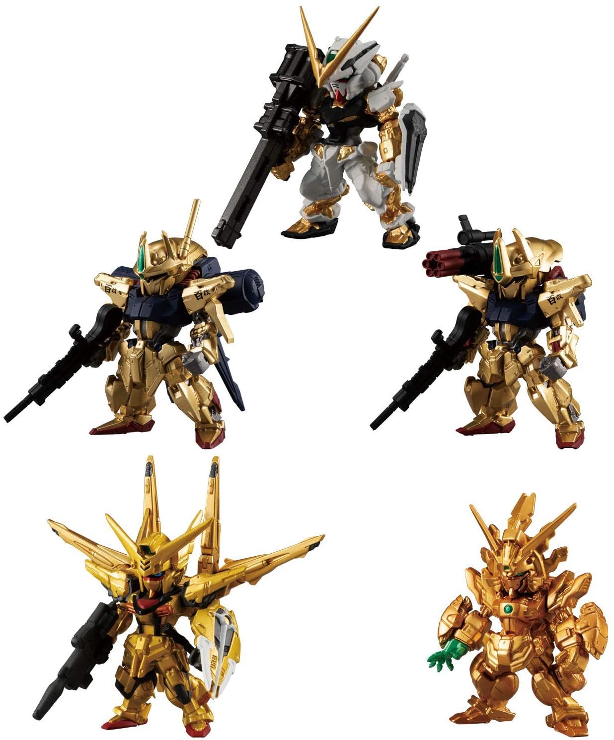 "Bandai FW Gundam Converge Gold Edition ""Mobile Suit Gundam"", Bandai Converge  (8/BOX)"