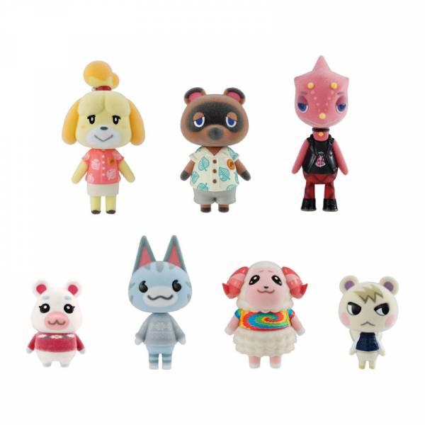 "Bandai Assorted Shokugan Animal Crossing: New Horizons Villager Collection ""Animal Crossing"" (8/BOX)"