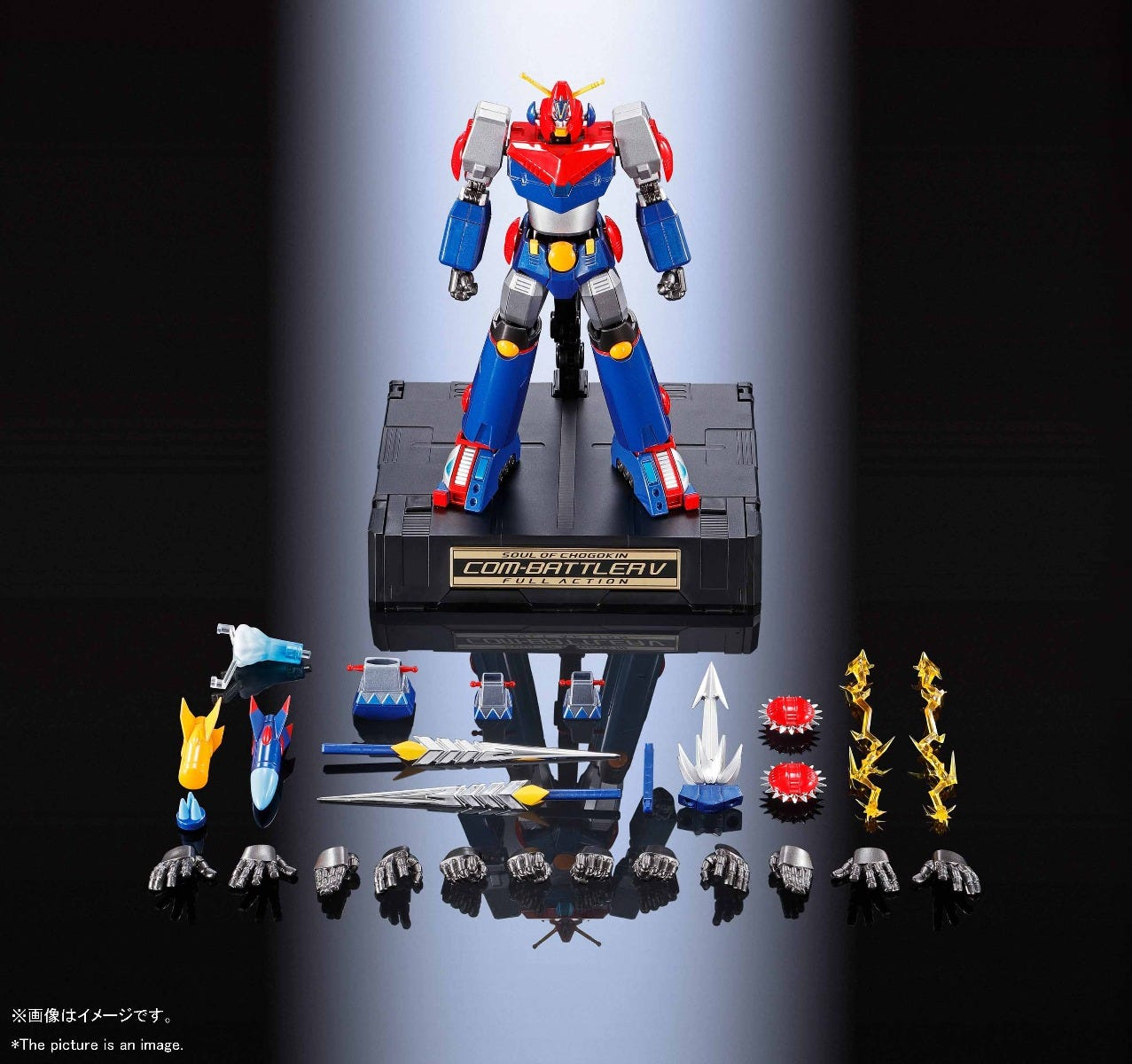 Bandai GX-90 Super Electromagnetic COM-BATTLER V FA, Bandai Soul of Chogokin