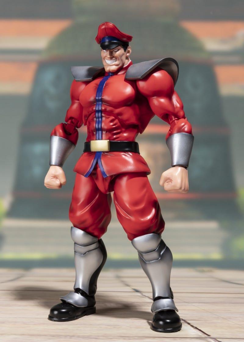 """Bandai M BISON """"Street Fighter"""", Bandai SH Figuarts"""