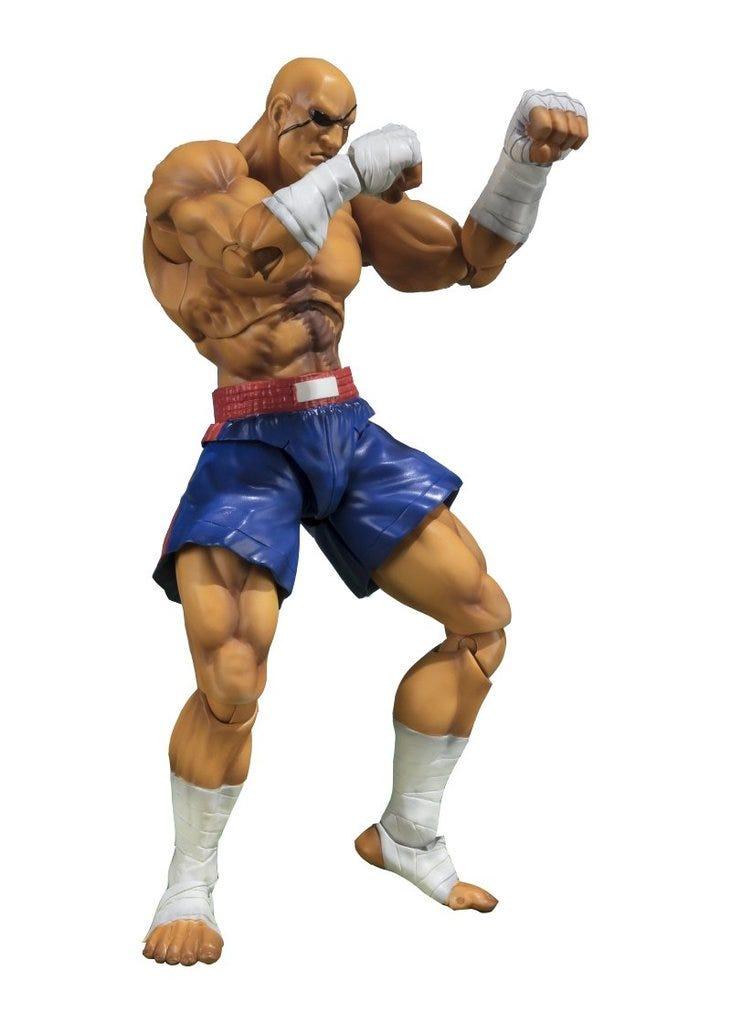 "Bandai Sagat ""Street Fighter V"", Bandai SH Figuarts"