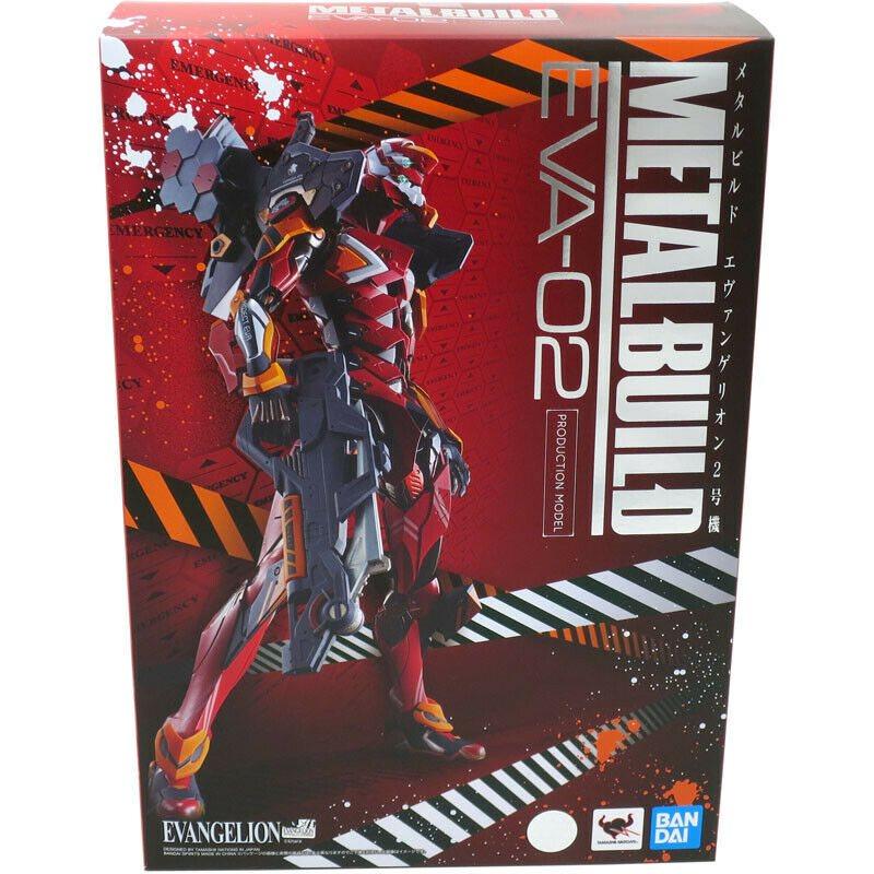 """Bandai EVA-02 Production Model """"Evangelion"""", Bandai Metal Build"""