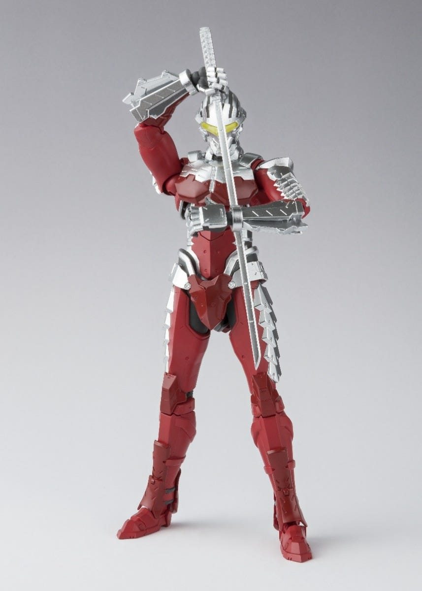 "Bandai Ultraman Suit Ver 7 The Animation ""Ultraman (Netflix)"" , Bandai SH Figuarts"