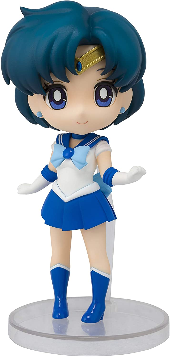 "Bandai Sailor Mercury ""Sailor Moon"", Bandai Figuarts Mini (3.5 Inch approx)"