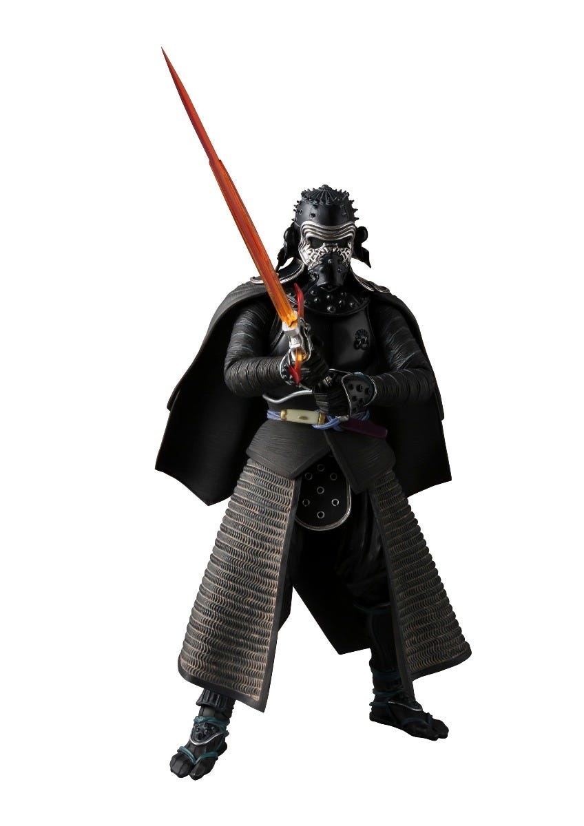 "Bandai Samurai Kylo Ren ""Star Wars Episode VII, Bandai Meisho Movie Realization"