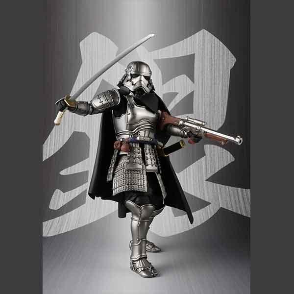 "Bandai Ashigaru Taisho Captain Phasma ""Star Wars"", Bandai Meisho Movie Realization"