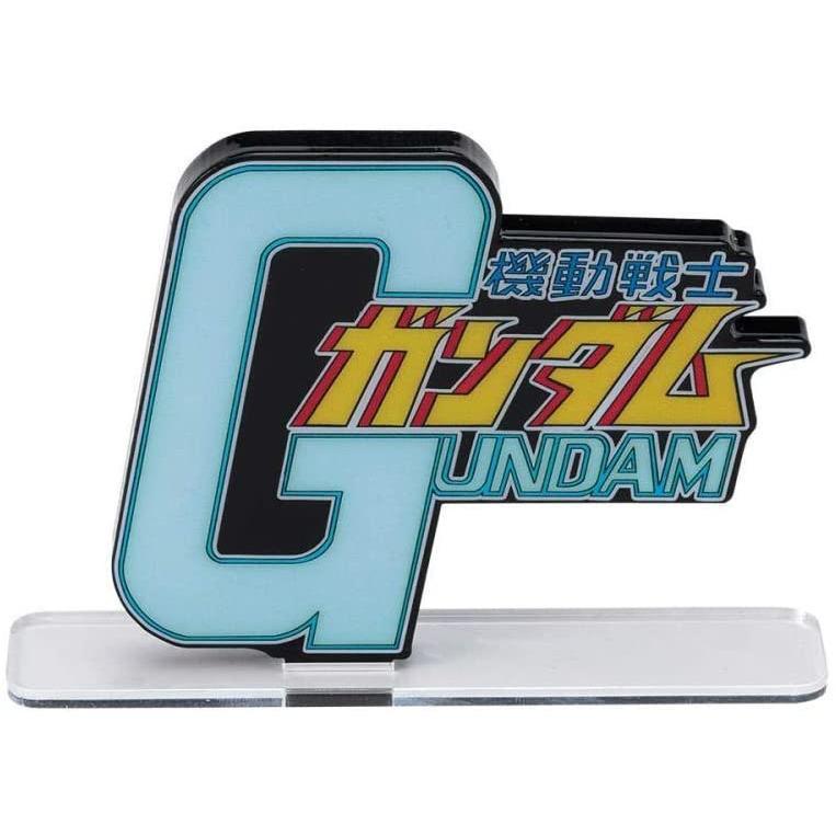 """Bandai Mobile Suit Gundam """"Gundam"""", Bandai Logo Display"""