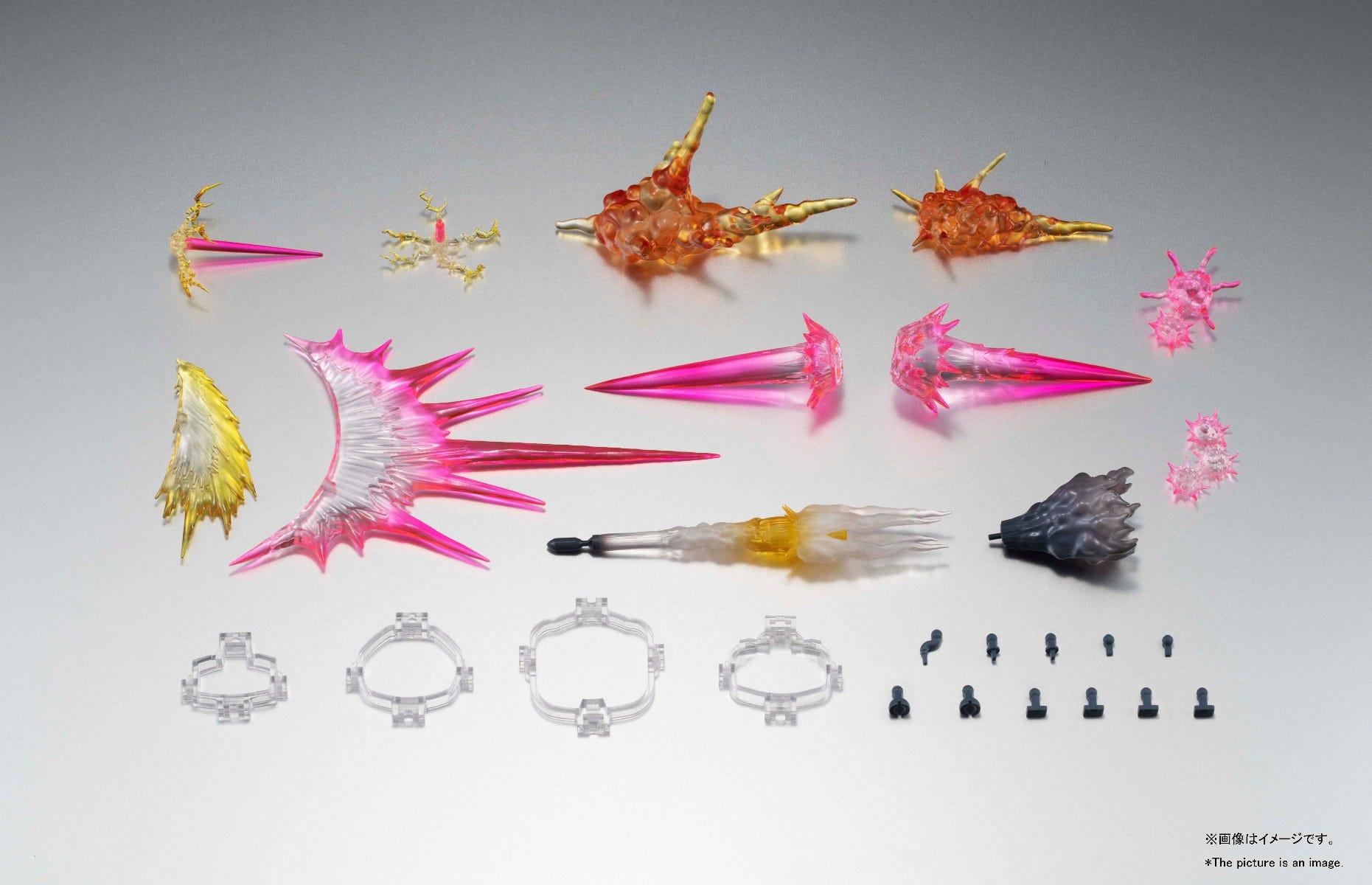"Bandai Robot Spirits Effect Parts Set Ver. A.N.I.M.E. ""Mobile Suit Gundam"""
