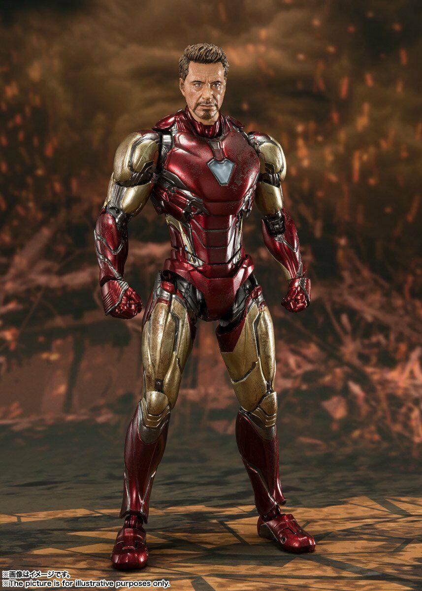 """Bandai Iron Man Mark 85 -Final Battle Edition - """"Avengers: Endgame"""", Bandai S.H. Figuarts"""