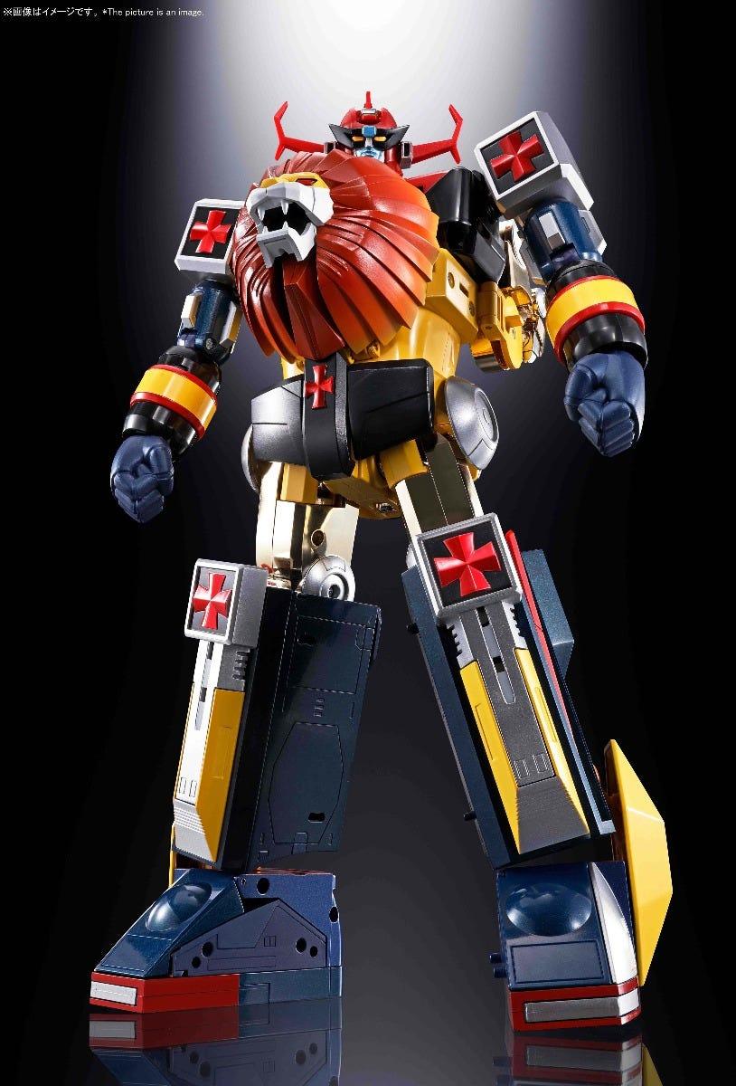 """Bandai GX-59R Daltanious """"Future Robot Daltanious"""", Bandai Soul of Chogokin"""