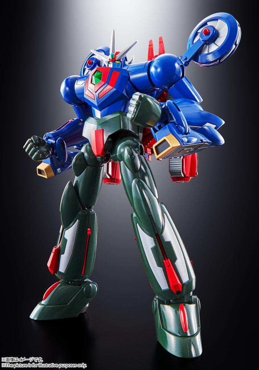 """Bandai Spirits Soul of Chogokin GX-96 Getter Robot Go """"Getter Robot Go"""""""