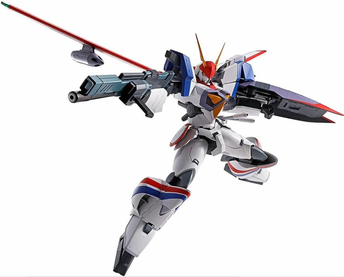 """Bandai Spirits Hi-Metal R Dragonar-1 Custom """"Metal Armor Dragonar"""", Pre-assembled"""