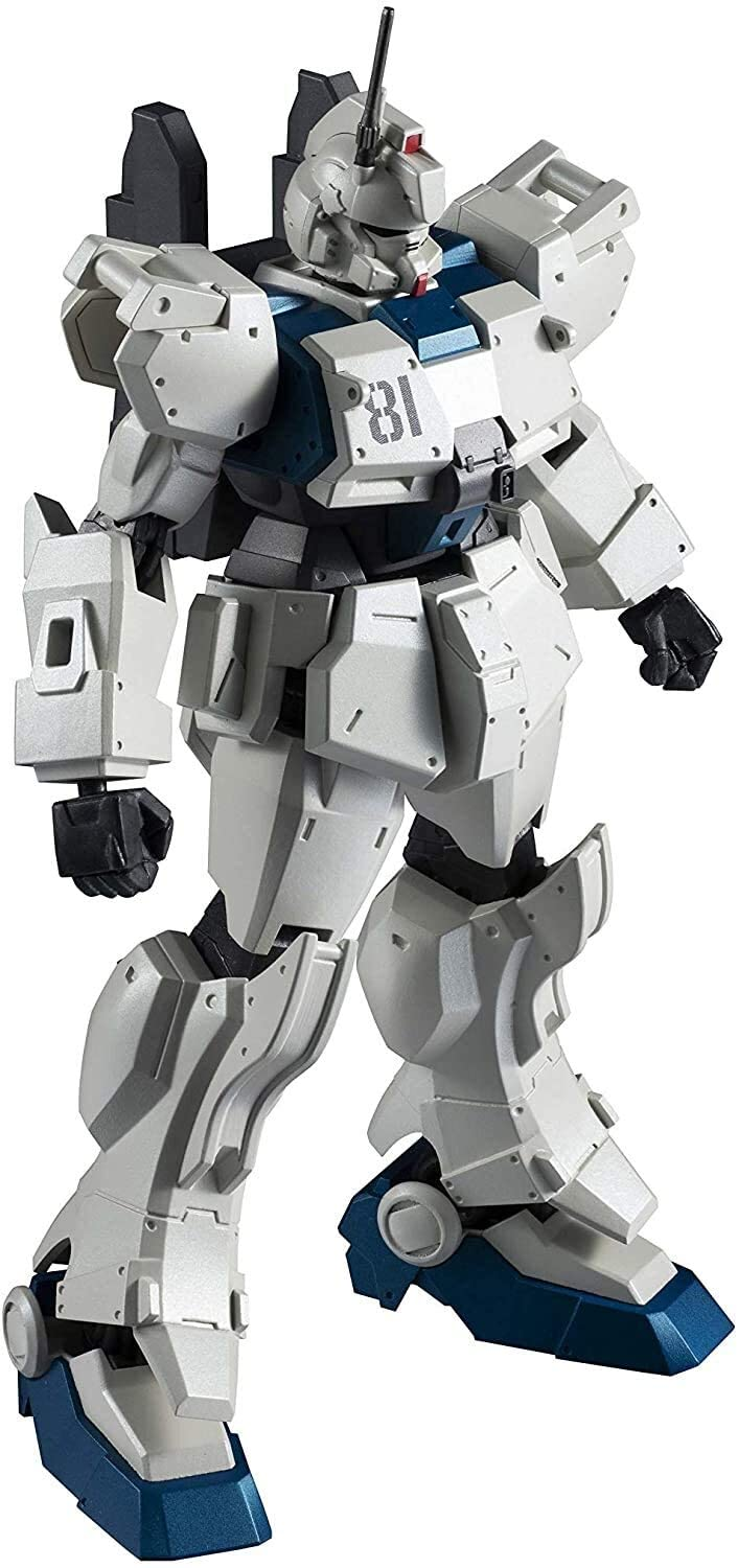 "Bandai RX-79[G]Ez-8 Gundam Ez-8 ""Mobile Suit Gundam: The 08th MS Team"", Bandai Gundam Universe (5.9 Inch approx)"