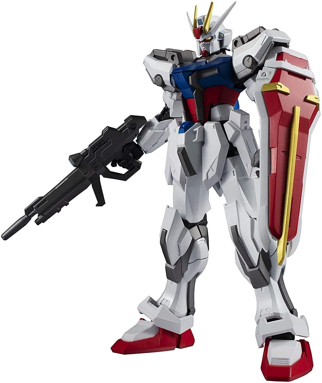 "Bandai GAT-X105 Strike Gundam ""Mobile Suit Gundam SEED"", Bandai Gundam Universe (5.9 Inch approx)"