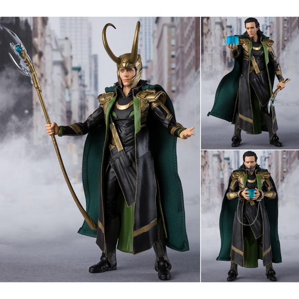"Bandai Loki (Avengers) ""Avengers"", Bandai Tamashii Nations SH Figuarts"