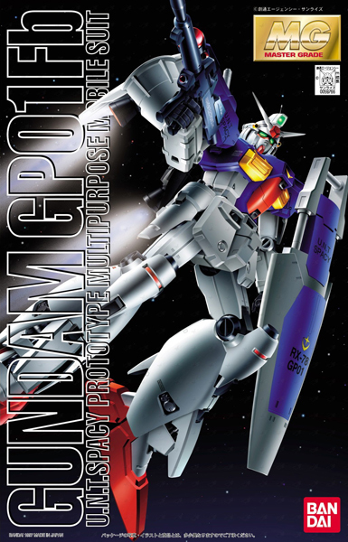"""Bandai RX-78GP01Fb Gundam GP01FB """"Gundam 0083"""", Bandai MG"""