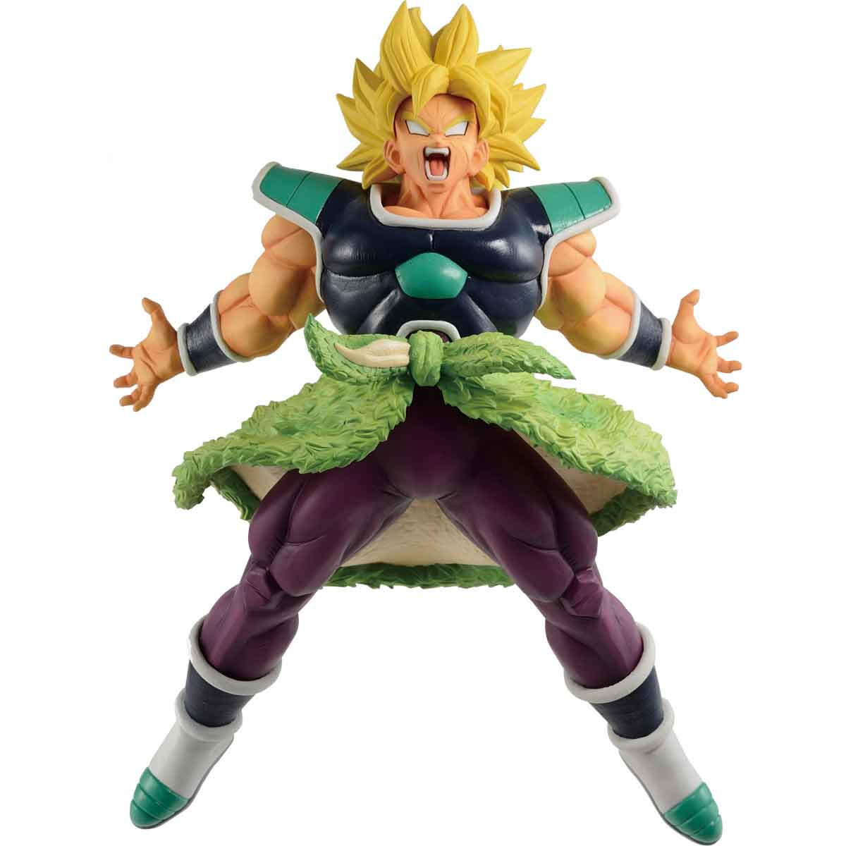 "Bandai Super Saiyan Broly (Rising Fighters) ""Dragon Ball"", Bandai Ichiban Figure"