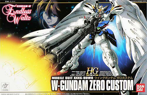 Bandai 1/144 Wing Gundam Zero Custom