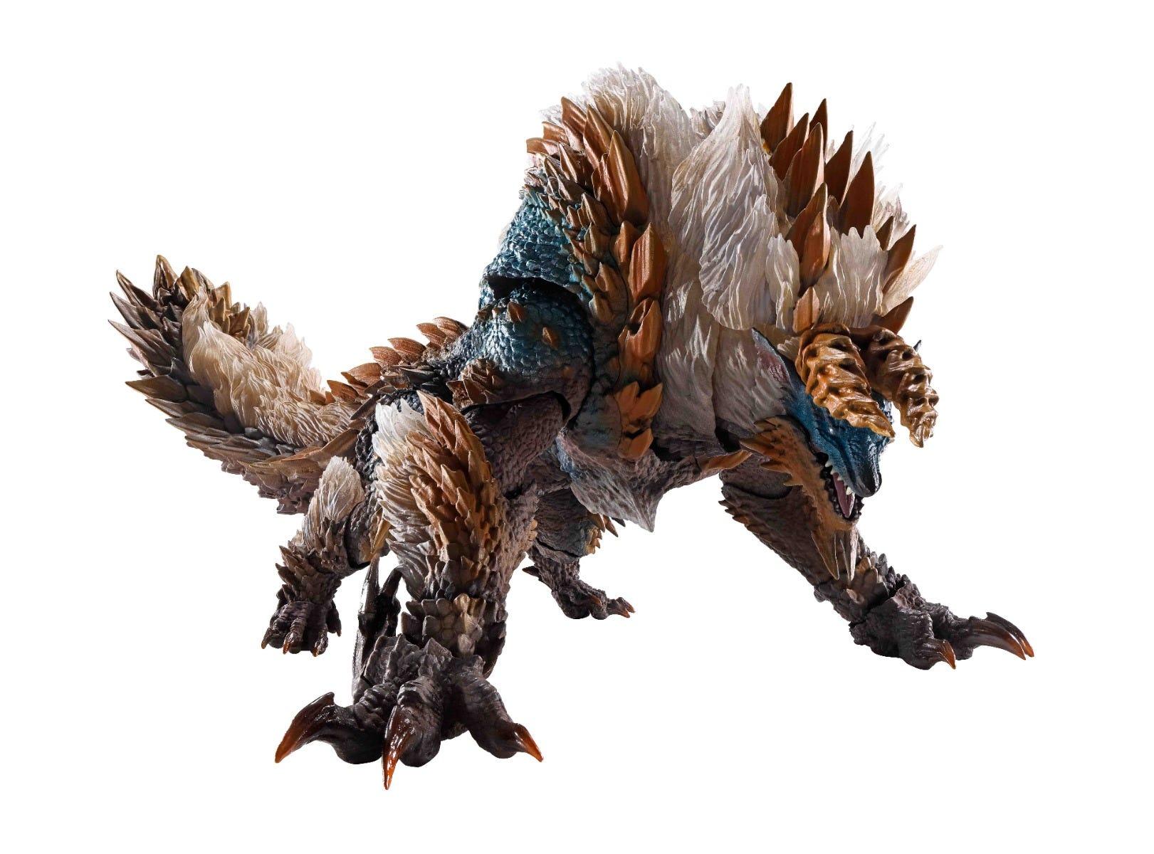 Bandai Spirits S.H.MonsterArts Zinogre Monster Hunter World Iceborne