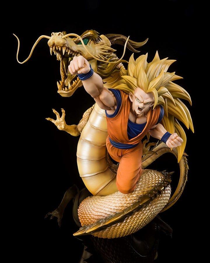 Bandai Spirits S.H. Figuarts, Super Saiyan 3 Son Goku (Extra Battle) Dragon Fist Explosion Dragon Ball Z