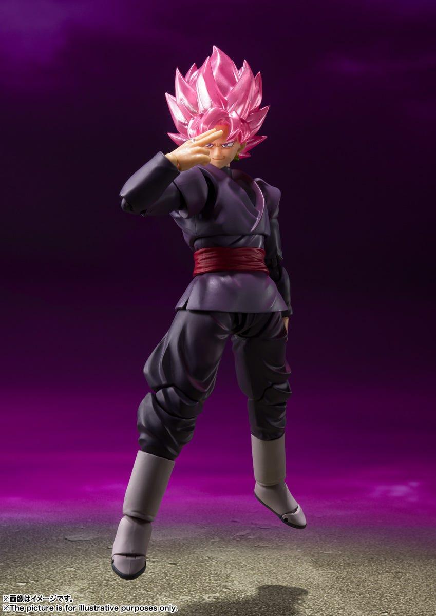 "Bandai Spirits S.H.Figuarts, Goku Black Super Saiyan Rose - ""Dragon Ball Super"""