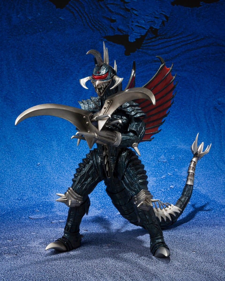 "Bandai Spirits S.H.MonsterArts Gigan (2004) Great decisive battle Ver. ""Godzilla Final Wars"""
