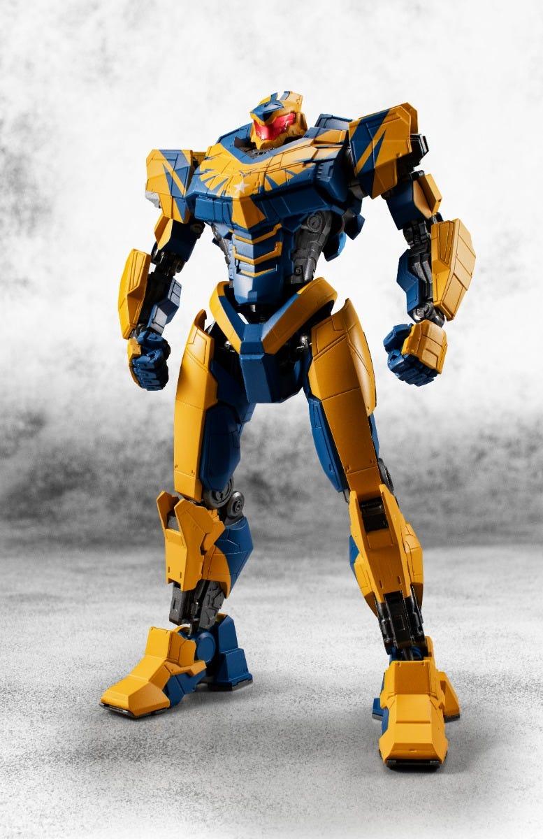 Bandai Spirits, The Robot Spirits Atlas Destroyer Pacific Rim:The Black ( Side Jaeger)